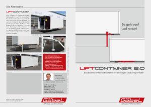 Liftcontainer 2.0 Prospekt ansehen