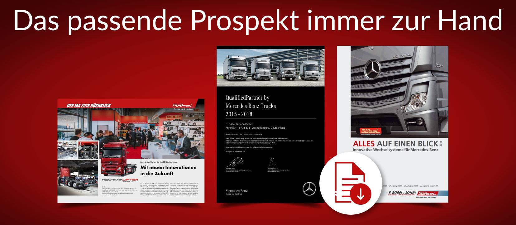 Goebel Prospekte 2018 Fahrzeugbau